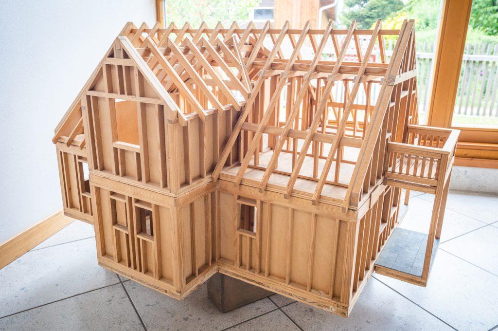 Holzhaus Modell