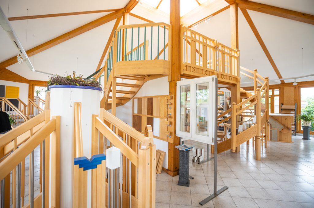 Treppen Ausstellungspavillon