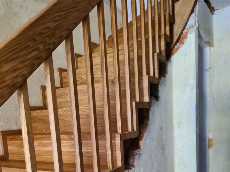 Projekt Holztreppe